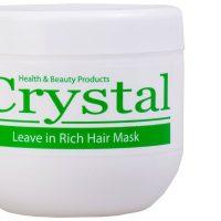 ماسک مو مغذی بدون آبکشی کریستال حجم ۵۰۰ میل