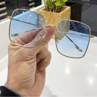 عینک بلوکات وآفتابی مدلCHANEL رنگ قهوه ای تیره