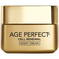 کرم پیشرفته شب لورآل گلد مدلAge Perfect Cell Renewalحجم ۵۰ میلی لیتر اصل