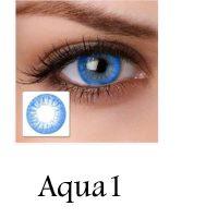 لنز رنگی چشم لاکی لوک مدل Aqua1