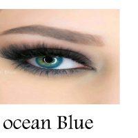 لنز رنگی چشم لاکی لوک مدل Ocean Blue