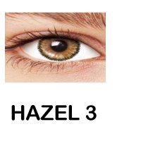 لنز رنگی چشم لاکی لوک مدل Hazel3