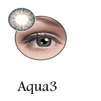 لنز رنگی چشم لاکی لوک مدل Aqua3
