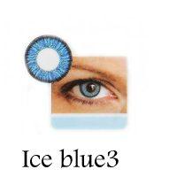 لنز رنگی چشم لاکی لوک مدل Ice Blue 3