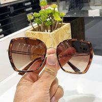 عینک آفتابی UV 400 فریم پلنگی مدل دیور