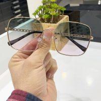 عینک آفتابی بلوکات UV 420 فریم فلزی مدل چنل