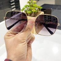 عینک آفتابی UV 400 فریم فلزی مدل چنل