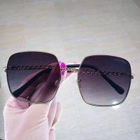 عینک آفتابی و بلوکات UV 420 فریم فلزی مدل چنل
