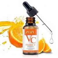 سرم روشن کننده و ضد چروک ویتامین C زوزو