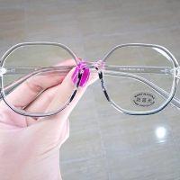 عینک بلوکات بیضی فریم شیشه ای