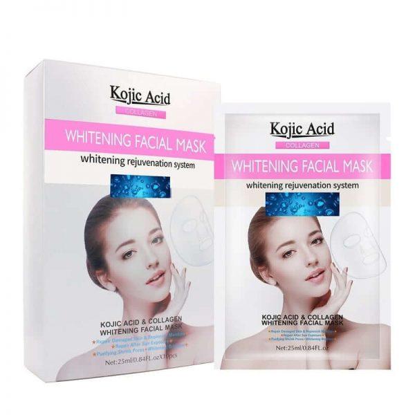 ماسک ورقه ای سفید کننده Kojic Acid