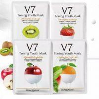 ماسک ورقه ای هفت ویتامینه V7 بیوآکوا BIOAQUA